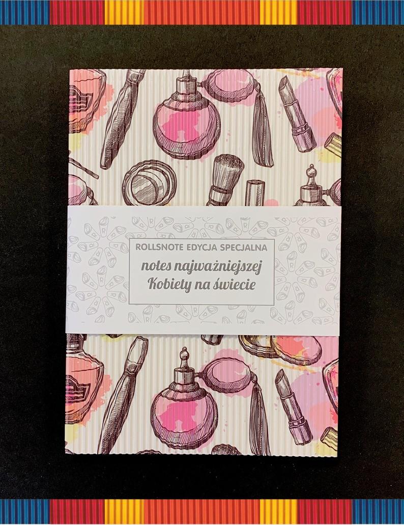 f46d4e56acbd0a Notes dla kobiety Rollsnote - kolekcja specjalna | producent kelndarzy