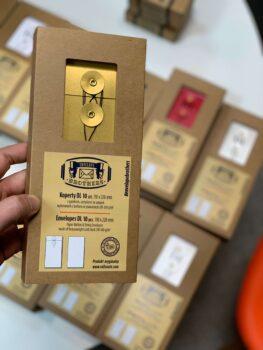 opakowanie box z kopertami